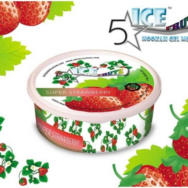 ICE FRUTZ 5 STARS SUPER STRAWBERRY 50GR