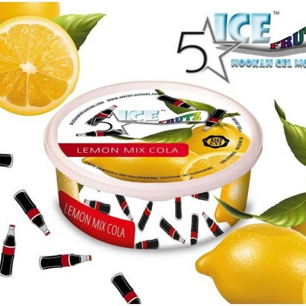 ICE FRUTZ 5 STARS LEMON MIX COLA 50GR