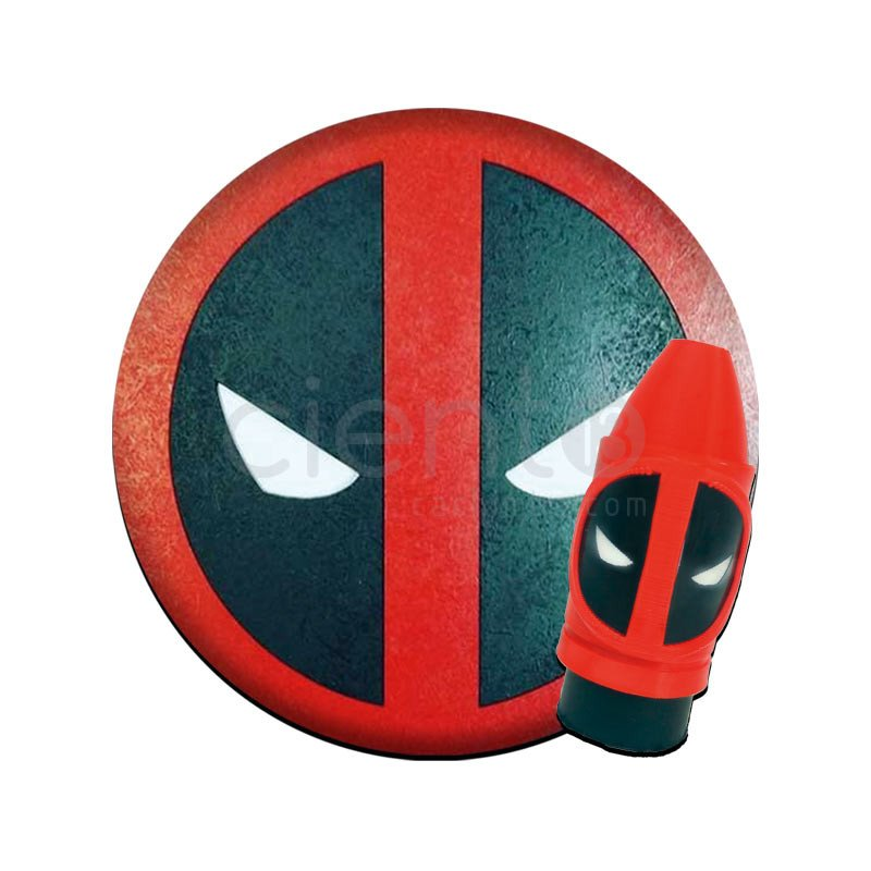 PACK TAPETE + BOQUILLA DEADPOOL