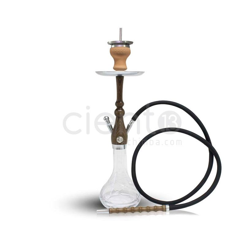 HOOKAH BOSS MINI WOOD II WALNUT